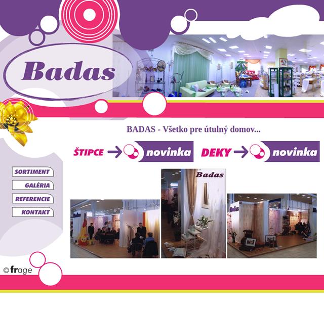 Badas - Všetko pre útulný domov. bd04bdff74a